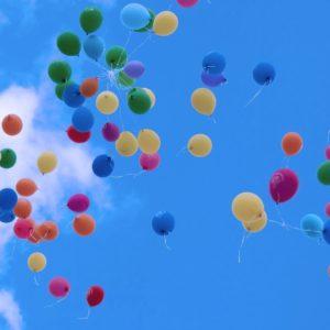 Куда улетают воздушные шарики?!